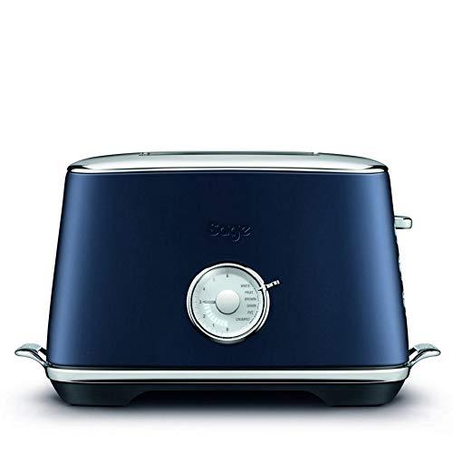 Sage Appliances STA735DBL 2 Slice Toaster, Damson Blue