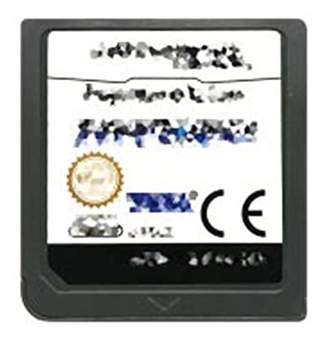 TYLJ MYBHD DS Cassette de Juego con Tarjeta de Consola Espacio Ilimitado en inglés para Nintendo DS 3DS 2DS (Color : Infinite Space EUR)