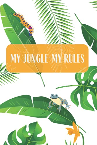 My Jungle 200 page journal