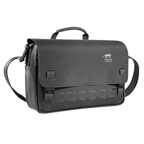 Tasmanian Tiger Unisex– Erwachsene TT Support Bag Umhängetasche, Schwarz, 35 x 23 x 10 cm