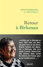 Retour à Birkenau de Ginette Kolinka