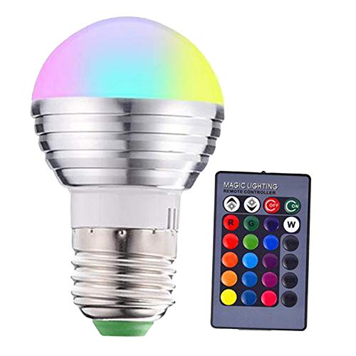 #N/A Colour Changing Light Bulb, RGB LED Color Bulbs, Mood RGB...
