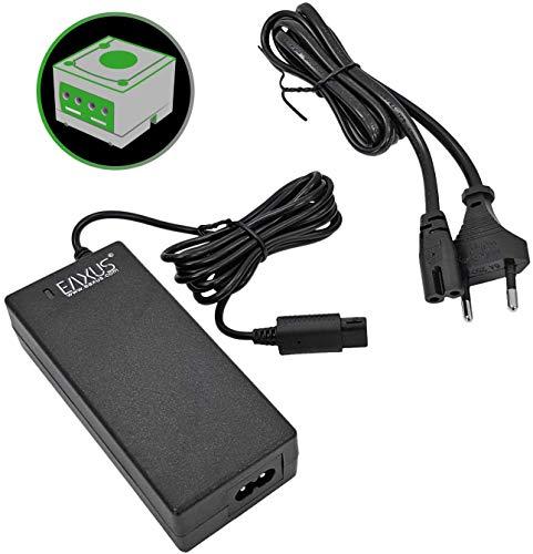 Eaxus® Alimentation électrique convient à la Nintendo GameCube NGC ⚡ - Câble d'alimentation de 2,40 mètres / Adaptateur secteur