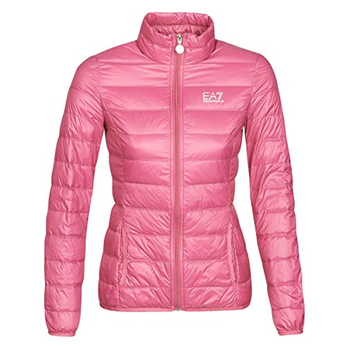 Emporio Armani EA7 Train Core Lady W Lt Down Jacket Mäntel Damen Rose - M - Daunenjacken Outerwear