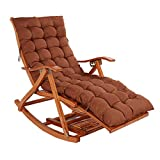 Folding Zero Gravity Rocking Chairs with Padded Sun Lounger Sling Recliner Folding Adjustable for Outdoor Beach Patio Pool Max.150kg