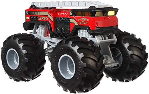 Hot Wheels Monster Trucks, Rojo (Mattel GBV34)