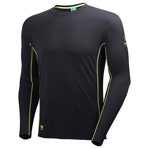Helly Hansen Workwear Maglietta funzionale a maniche lunghe Magni, 1pezzi, M, Nero, 34075162M