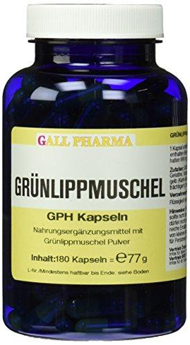 Gall Pharma Grünlippmuschel GPH Kapseln , 1er Pack (1 x 180 Stück)