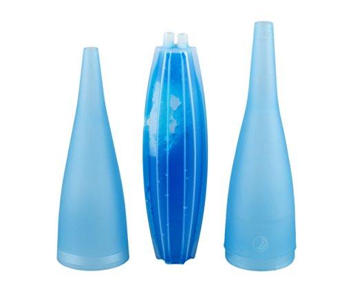 Nisha Ice Bazooka 2.0 - Boquilla refrigerante atornillable para cachimba...