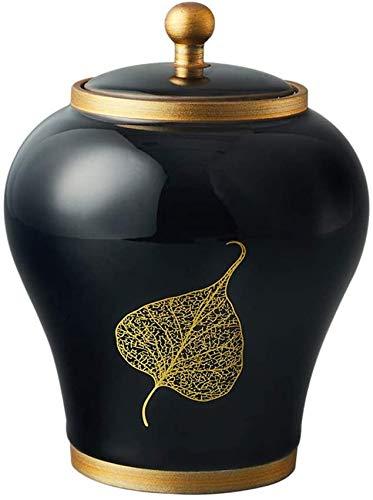 Urna Funeraria para Cenizas Crematorias Mini urnas de cremación para Mascotas Mini urnas urnas funerarias para Adultos Sellado de cerámica Urnas de cremación a Prueba de Humedad. QAF210427
