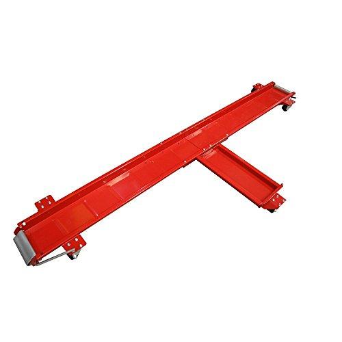 Cruizer - Carrello sposta moto e scooter di colore rosso piattaforma Dolly con ruote sottostanti in gomma, peso massimo supportato 620 kg