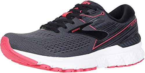 Brooks Adrenaline GTS 19 Black/Ebony/Pink 10 B (M)