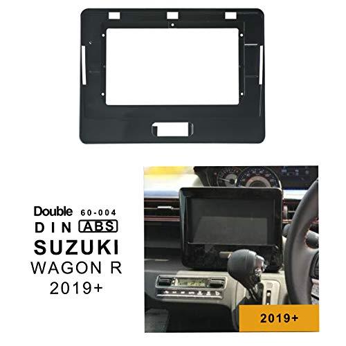 EZoneTronics 10,1 cm speciale autoradio stereo telaio per SUZUKI WAGON R 2019+doppio DIN 60-004