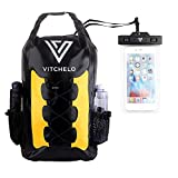 Vitchelo 30L Waterproof Dry Bag Backpack for Outdoor Water Sports Kayaking Camping -...