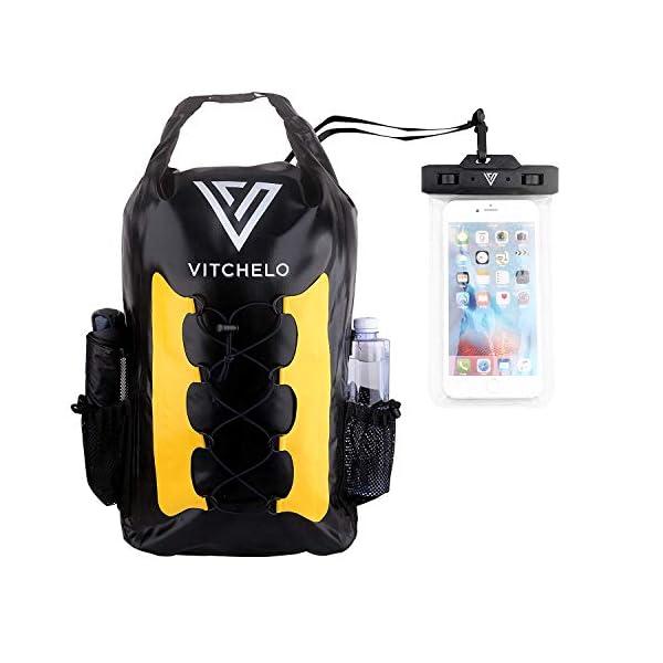 41LPo80FLaL. SS600  - Mochila impermeable de 30L Ideal para navegación Kayak Canoa Vela Deportes acuáticos Snowboard esquí Senderismo Trekking…
