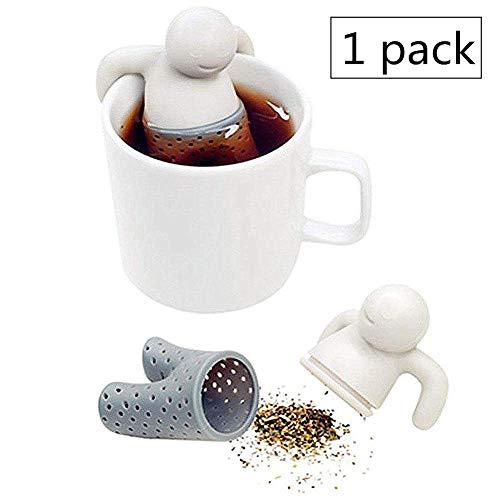 Filtri per la Preparazione del tè Coppa colino da tè Infusore per tè Resistente Sfera del tè in Acciaio Inossidabile Infusore per tè Sfuso Grey