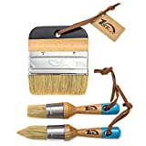Best Chalk Brushes - 1st Place Ultra Chalk & Wax Natural Bristle Review
