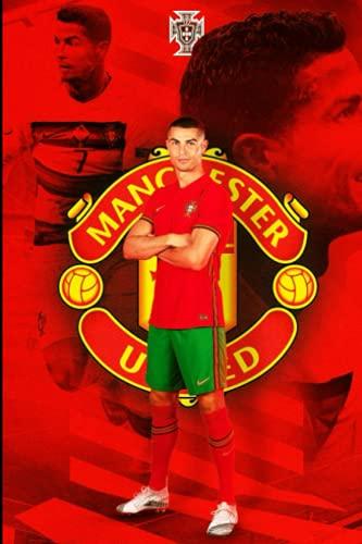 Cuaderno CR7 Manchester United / 100 páginas/15,2 x 22,8 cm/cuaderno de revista con líneas: Ronaldo Manchester United, ronaldo transfer, ronaldo man ... to man utd, ronaldo age,...