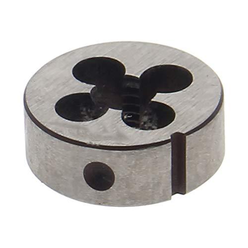 Utoolmart Round Die Machine Thread Left Hand Threading Die M8 x 1.25 Alloy Steel Tool 1pcs