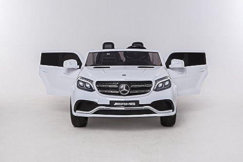 MERCEDES GLS63 12V - Weiß, 4 MOTORES - Mando Parental