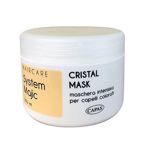 Máscara pelo Semillas de Lino Intensiva Cristal Mask profesional System Majic 250ml...