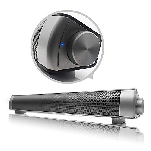 ZWMM Soundbar Mit Subwoofer Multimode-HD-Stereo-Bluetooth-Lautsprecher Mit Fernbedienung Bluetooth 4.0 Opt