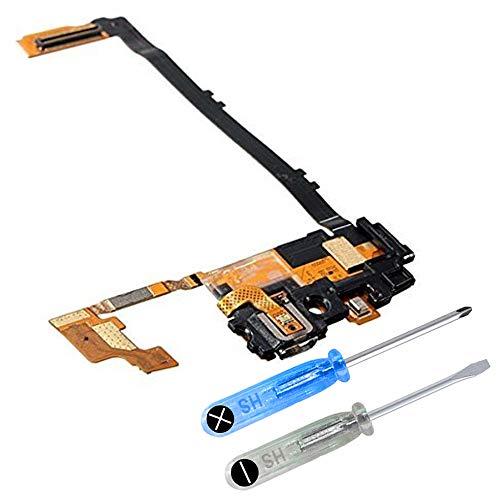 MMOBIEL Dock Connector kompatibel mit LG Nexus 5 D820 Mikro Ladebuchse Lade Port Flexkabel inkl Schraubenzieher