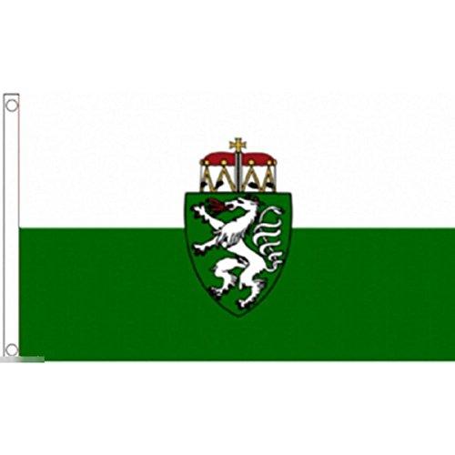国旗 シュタイアーマルク州 オーストリア 特大フラッグ【ノーブランド品】