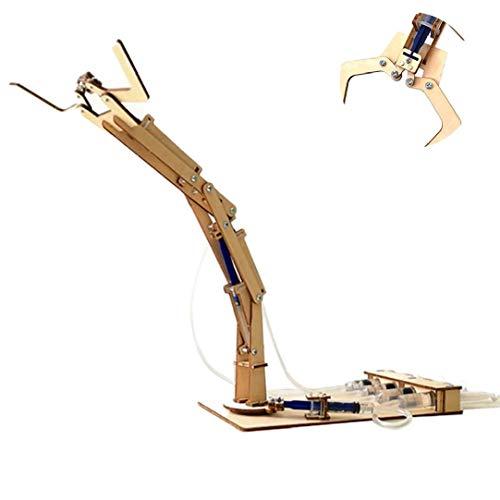 Science Kid Brazo robótico de aprendizaje y exploración Conjunto hidráulico Brazo robótico Kit de construcción de juguetes educativos Stem regalo de la diversión para el estudiante