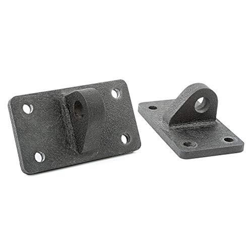 Rugged Ridge 11540.27 XHD Bumper D-Ring Shackle Bracket Kit for 76-18 CJ/Wrangler