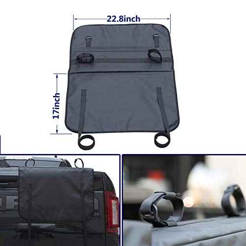 Lyon cover Small 24' Truck Tailgate Pad Shuttle Pad 2 Bikes Fits All Trucks   Warranty 1 Years  