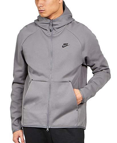 Nike Giacchetto con Cappuccio Uomo Grigio 928483056 Grigio XL