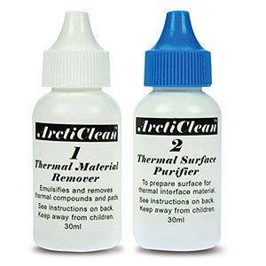 Arctic Silver Arcticlean Thermal Material Remover & Surface Purifier 60ml Kit ACN-60ML
