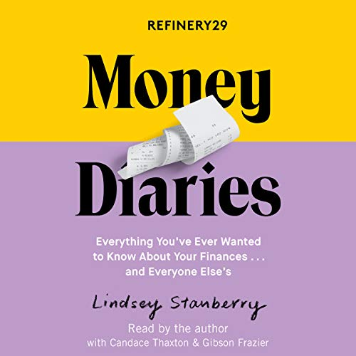 Refinery29 Money Diaries audiobook cover art
