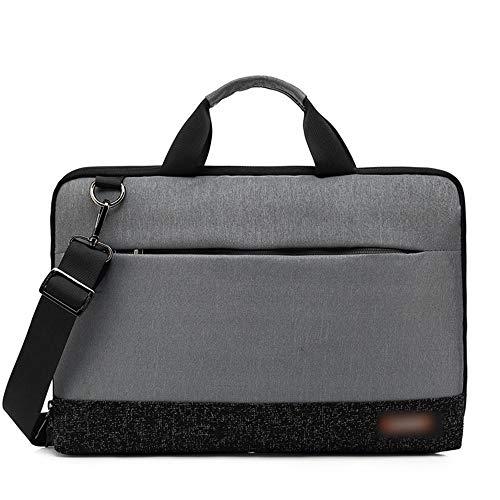 YABAISHI Affari Tote, Shoulder Bag Messenger Men (Color : Dark Gray, Size : 13inch)