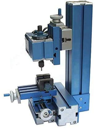 Mini Metal Milling Machine CNC DIY Tool Benchtop Wood Milling Motorized Motor Woodworking for Hobby AC100~240V