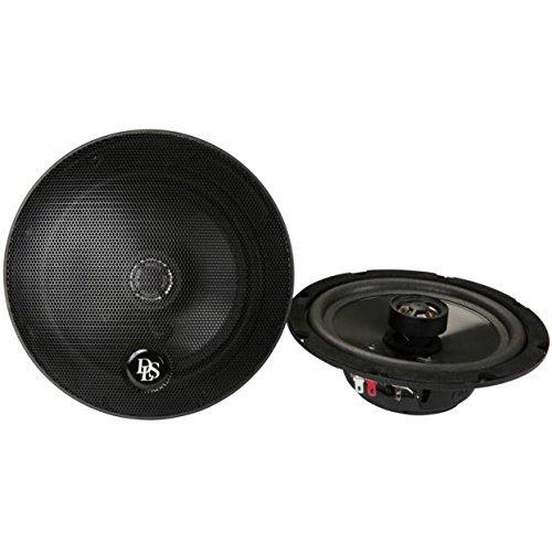 DLS CC-M226 16,5cm / 6,5 Zoll 2-Wege Koax-Lautsprecher 50W RMS | 4Ohm | Einbautiefe: 4,5cm | Farbe: schwarz | Frequenz: 70-18.000 Hz | Empfindlichkeit: 85dB (1W/1m) | Einbaudurchmesser: 145mm