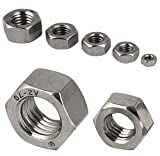 Protech - Tuercas hexagonales M1,6 a M24 DIN 934 para...