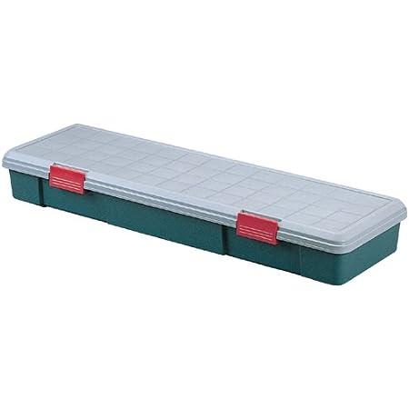 アイリスオーヤマ 収納 BOX 770×320×155 RVBOX 770F グレー/ダークグリーン