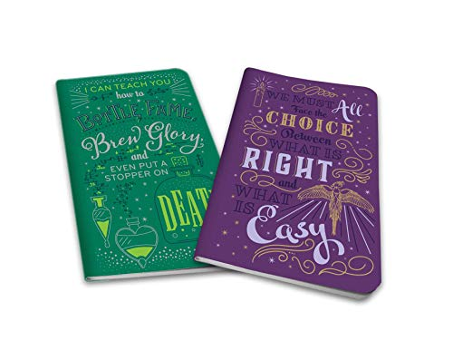 Harry Potter: Character Notebook Collection (Set of 2): Dumbledore and Snape (Notebook Character Collection 2-pack)