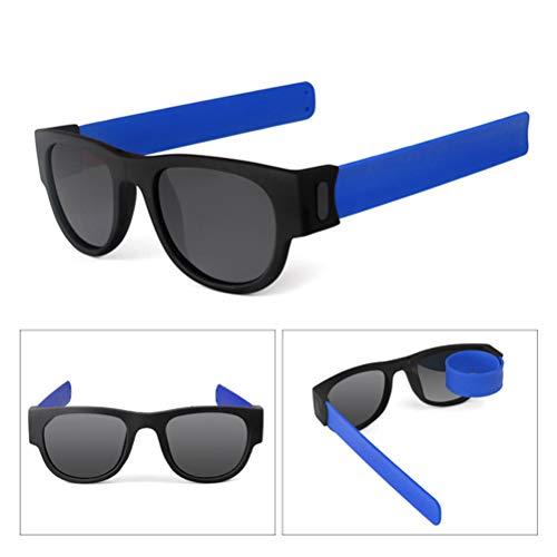 Mankoo Gafas de Sol Plegables polarizadas Plegables Gafas de Sol de Playa...