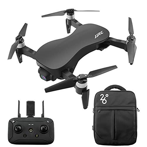 GoolRC Drone Senza spazzole X12 RC con Telecamera a 3 Assi stabilizzata con Giunto cardanico 12MP 4K Foto Quadcopter Velivoli Indoor Outdoor per Adulti