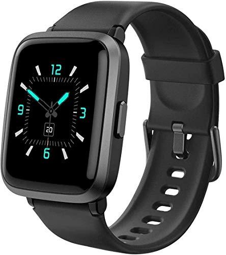 JSL Smart Watch Fitness Tracker para teléfonos Android y compatible con iPhone Smartwatch con medidor de oxígeno en la sangre Monitor de presión arterial 5ATM
