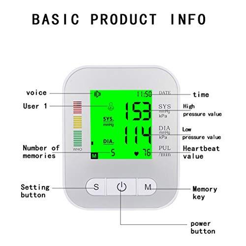 Life HS Automatische elektronische Home-Blutdruckmessgerät intelligente Stimme elektronische Blutdruckmessgerät Haushalt tragbare ältere Eltern Gesundheitswesen Geschenke