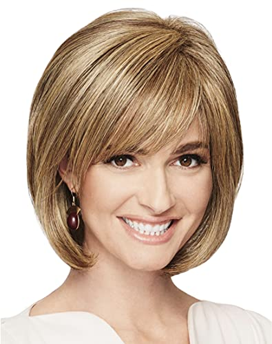 ADORATION Basic Cap HF Synthetic Wig by Eva Gabor, 3PC Bundle: Wig, 4oz Mara Ray Enriched Shampoo, and 19 Page Belle of Hope Guide (Light Grey)