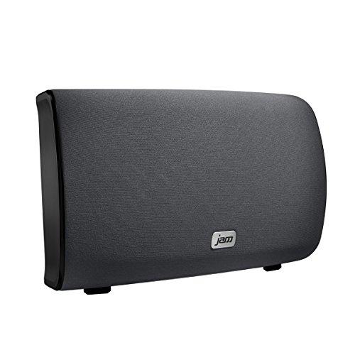 JAM Audio Symphony kabellose WiFi Lautsprecher mit Alexa Voice, Einzeln/ Multiroom, 2.1 Stereo Sound, Höhen- und Bass Anpassungen, Streamen der persönlichen Playlists von Spotify etc. mit der JAM App