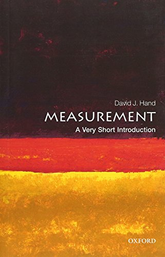 Compare Textbook Prices for Measurement: A Very Short Introduction Very Short Introductions 1 Edition ISBN 9780198779568 by Hand, David J.