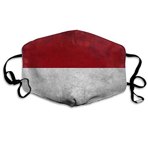 Indonesische vlag Indonesië vlaggen unisex volledige dekking buis gezicht masker Bandanas UV bescherming nek Gaiter hoofdband