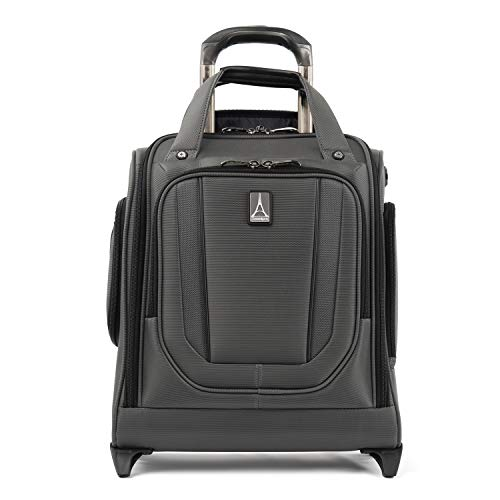 Travelpro Crew Versapack Rolling Underseat Carry-on Bag, Titanium Grey, One Size