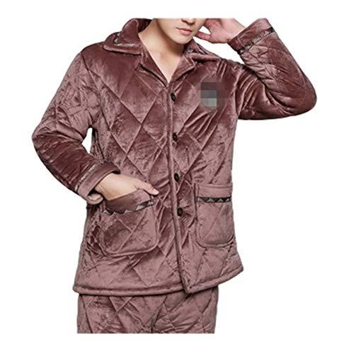 L'Homme de verdikkingspyjama/Nightgown kostuum vakantie kerstcadeau XXL C